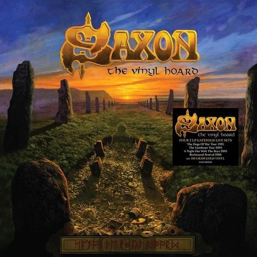 Saxon Vinyl Hoard Vinilo Lp Uk Import
