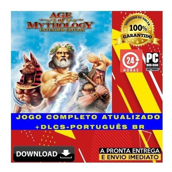 Age Of Mythology Extended Edition - Português + Brinde