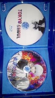 Tokyo Ghoul Las Dos Series Completas Mas Ovas Bluray/dvd