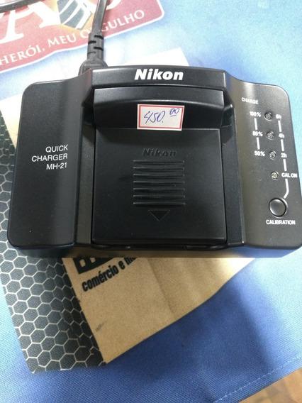 Carregador Nikon Quick Charger Mh-21