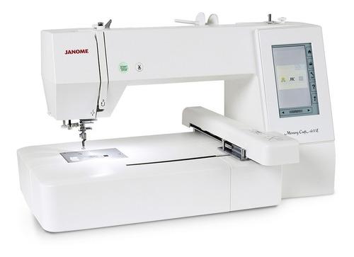 Máquina Bordadora Doméstica Janome Mc400e Memory Craft