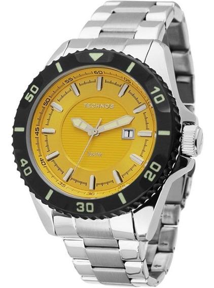Relógio Masculino Technos Para Mergulho 2115kpa/1y Analógico