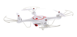 Drone Syma X5UC con cámara HD red/white