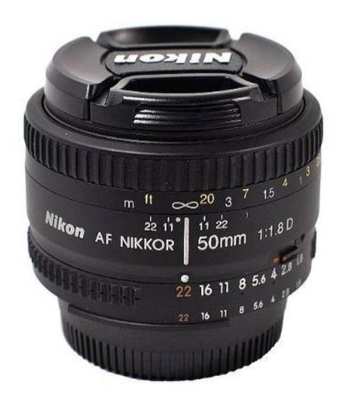 Lente 50mm Nikon 1.8d Fx