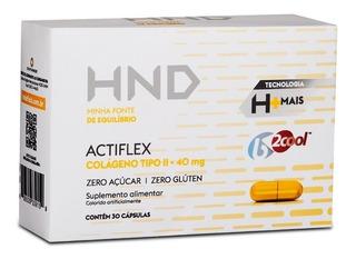 Colágeno Tipo 2 Hnd Actiflex Hinode 30 Caps Sem Glútensem Sa