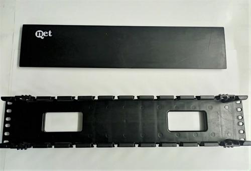 Imagen 1 de 2 de Organizador Horizontal 2u Qnet
