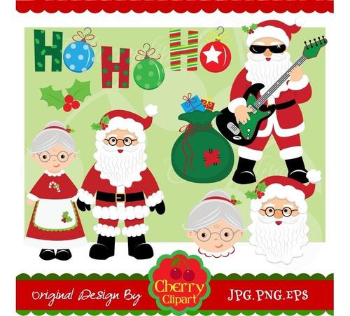 Kit Imprimible Navidad Imagenes Clipart Cod 40