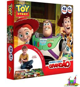 Quebra Cabeça Grandão Toy Story 48 Peças Toyster E