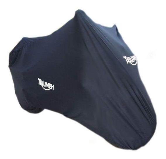 Capa Para Moto Lycra Personalizada Triumph