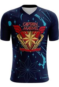 Playera Capitana Marvel