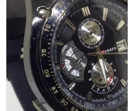 Relógio De Pulso Curren Masculino Quartz T09440 Webclock