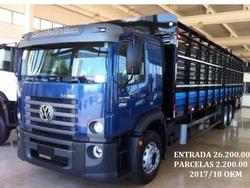 Vw 24280 6x2 2017/18 Gaiola Boiadeiro 11.80mts