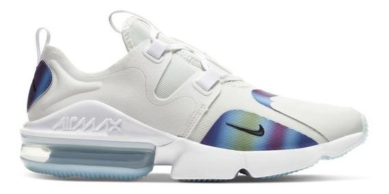 Tenis Nike Air Max Infinity Blanco Bq3999-101 Nk0463