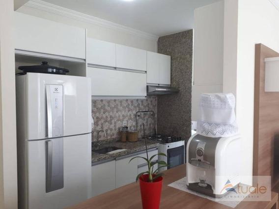 Apartamento Com 2 Dormitórios À Venda Ou Locação, 52 M² - Parque Da Amizade (nova Veneza) - Sumaré/sp - Ap6795