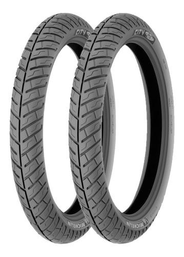 Llantas Michelin 2.50-17 43p Y 2.75-17 47p City Pro Tt