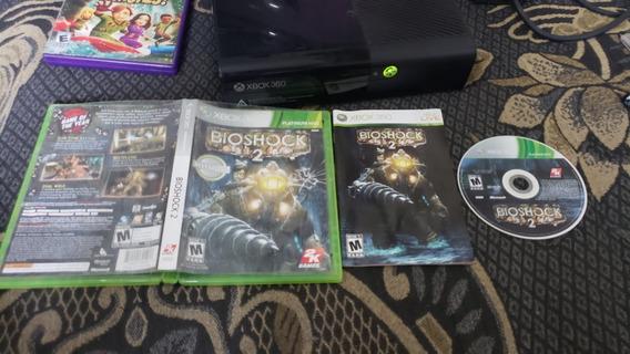 Bioshock 2 Mídia Física Para O Xbox 360 Tudo 100%. B4