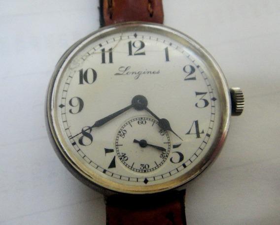 Relógio Longines Antigo De Prata