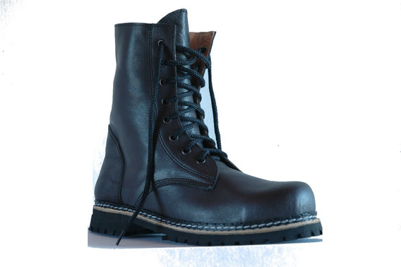 Borcegos Dirty Boots C. Media Base Simple Mujer Hombre 34a39