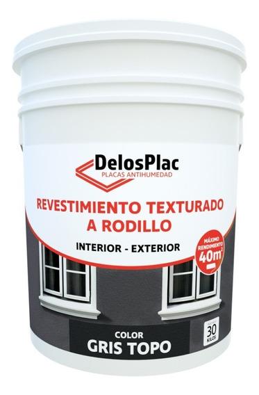 Revestimiento Textura Rodillo Gris Topo 30kg (tipo Tarquini)