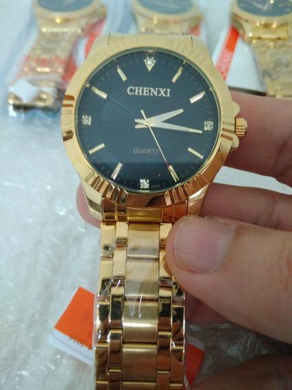 Relógio Masculino Analógico Original Em Aço Inox Chenxi!!
