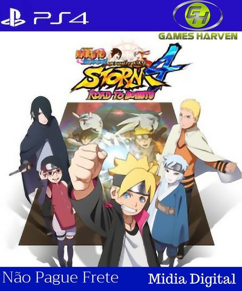 Naruto Shippuden Ninja Storm 4 Road To Boruto Ps4 | Promoção