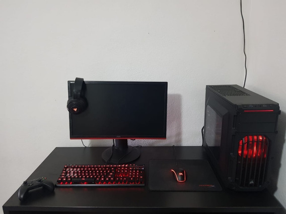 Pc Gamer I7 7geração Gtx 1070 8gb Ram Ddr4 Hd 2 Tb Ssd 240gb