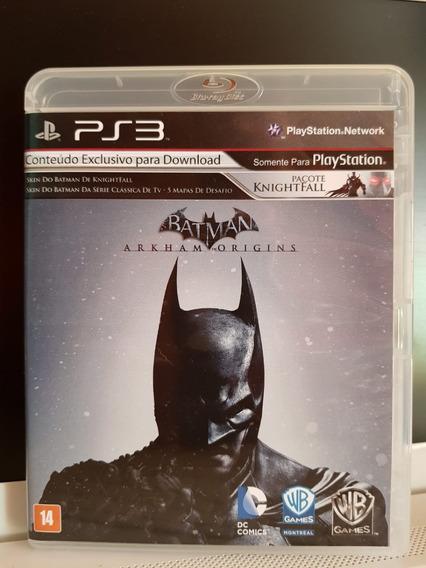 Batman Arkham Origins - Jogo Ps3 - Midia Física / Português
