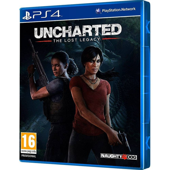 Jogo Uncharted The Lost Legacy Ps4 Playstation 4 - Compre