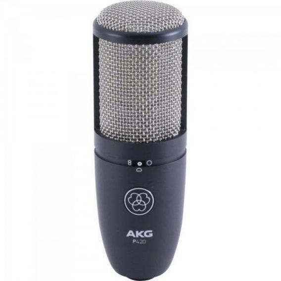 Microfone Condensador Cardioide - P420 - Akg (preto)
