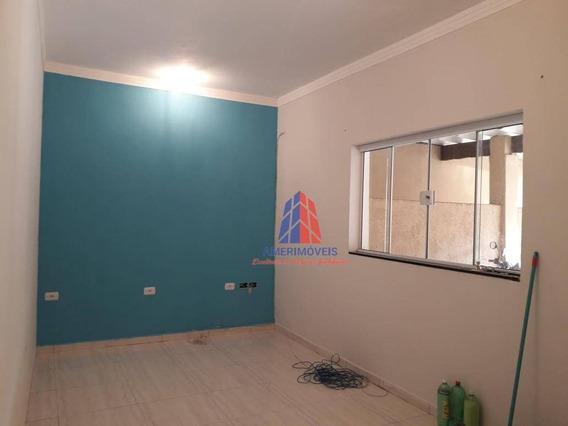 Casa Com 2 Dormitórios Para Alugar, 90 M² Por R$ 1.100/mês - Parque Novo Mundo - Americana/sp - Ca1273