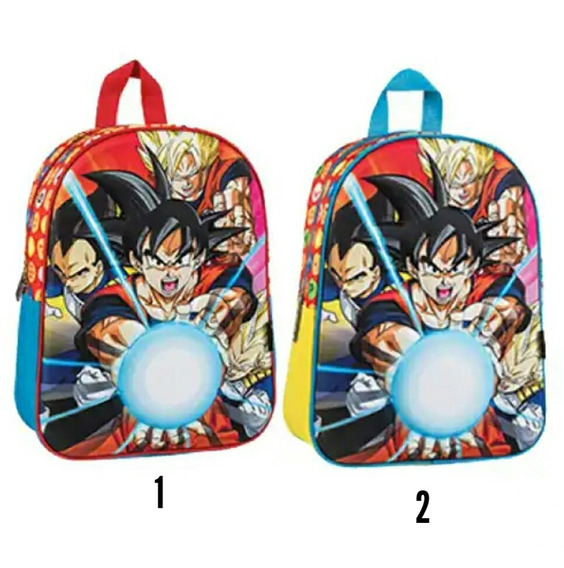 Mochila Dragon Ball Z 12 P Original 02104348