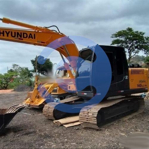 Escavadeira Hyundai, Robex 140lc-7, Ano 2011
