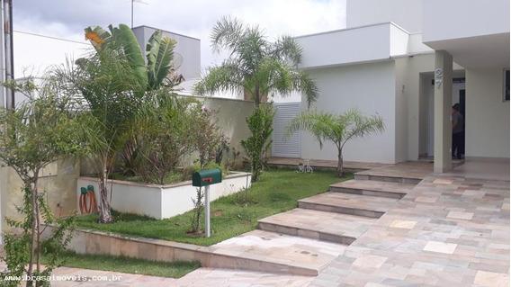 Casa Para Venda Em Presidente Prudente, Damha Iii, 4 Dormitórios, 4 Suítes, 6 Banheiros, 4 Vagas - 03040.001_1-1330744