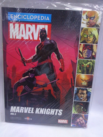 Enciclopedia Marvel Vol.68 Lomo Vol.69 Marvel Knights 5