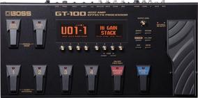 Pedaleira Gt-100 Versão 2.0 - Boss C/nf Gt100 Nota Fiscal !