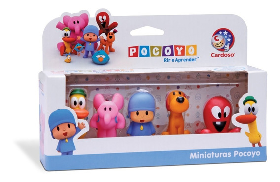 Miniaturas Pocoyo - Cardoso Toys