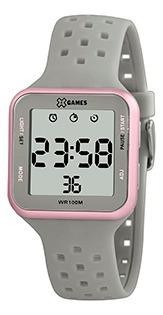 Relógio Feminino Xgames Puls Silicone 100m Ref.xlppd034-bxgx