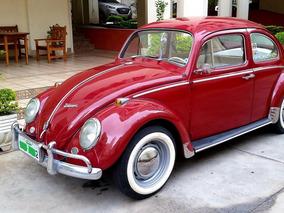 Volkswagen Fusca 1966 1300 Vermelho Colecionador Doc/mec Ok