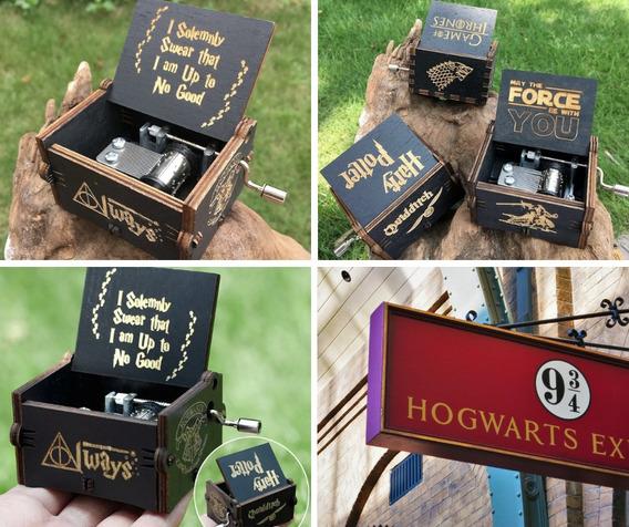Caixa Caixinha De Musica Hp Game Of Thrones Varios Modelos
