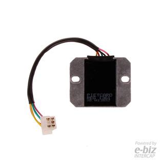 Regulador Voltaje 1361 Piet Original Monofasico 6a 12v Sti