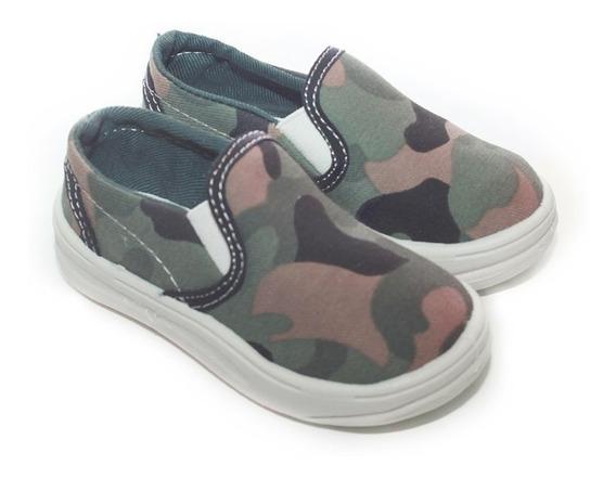 Panchas Zapatillas Para Chicos Nenas Niños Niñas De Lona