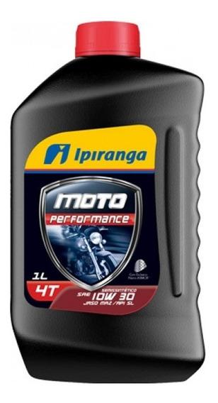 Óleo Ipiranga Semissintético Moto Performance 4t 10w30