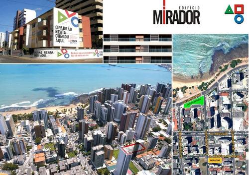 Imóvel Desocupado, Apto A Receber Visitas! Apartamento Com 2 Dormitórios À Venda, 91 M² Por R$ 850.000 - Meireles - Fortaleza/ce - Ap1981