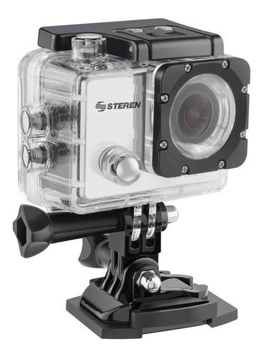 Cámara deportiva Steren CAM-500 4K NTSC/PAL gris