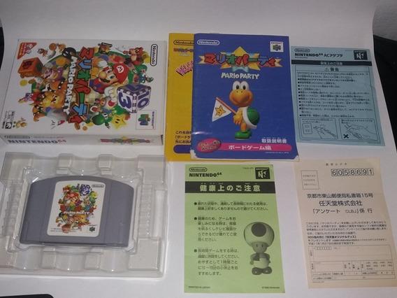 Mario Party Original Completo Cib Para Nintendo 64 N64