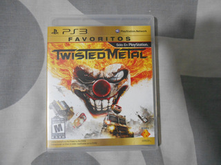 Twisted Metal Español Con Manual Ps3 Play Juegos Playstation