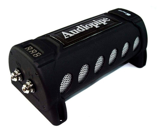 Capacitor Digital Audiopipe 6 Faradios Voltimet 6000 Rms P-i