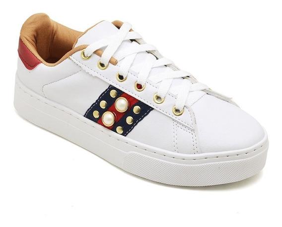 Sapato Tenis Feminino Branco Promoção