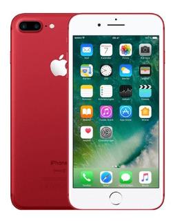 iPhone 7 Plus Vermelho 128gb Original Nfe + Frete Grátis