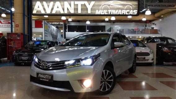 Toyota Corolla 2017 Top De Linha Na Garantia Toyota